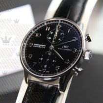 萬國 (IWC) IW371447 Portugieser Chronograph Black dial