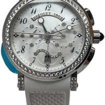 Breguet pre-owned Automatic 38mm Mother of pearl Sapphire crystal 5 ATM