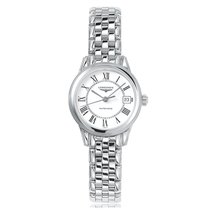 Longines Flagship Automatic Stainless Steel White Dial Ladies...