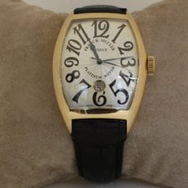 Franck Muller Red gold Automatic 40mm pre-owned Cintrée Curvex