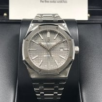 愛彼 (Audemars Piguet) 15400ST Royal Oak Automatic 41mm Slate...