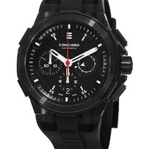 Concord 0320138 C2 Chronograph Series in Black PVD stainless...