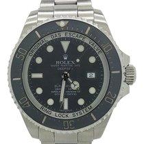 Rolex Deepsea Black Dial Stainless Steel Oyster Bracelet 44mm...