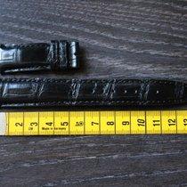 IWC alligator leather leder 20mm black  schwarz strap