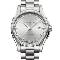 Hamilton Jazzmaster Viewmatic Steel 40mm Silver
