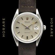 Rolex Oysterdate Precision Superb Brushed Grey Dial