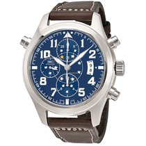 IWC IW371807 Pilot Midnight Double Chronograph Automatic Watch