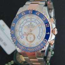 Rolex Yacht-Master II Regatta Everosegold/Steel 116681 NEW