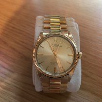 Rolex Oyster Perpetual 34 pre-owned 34mm Yellow gold