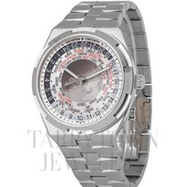 Vacheron Constantin Overseas World Time Acier 43.5mm Argent