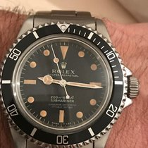 Rolex 5512 Acero Submariner (No Date) 40mm