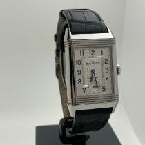 Jaeger-LeCoultre Grande Reverso Night & Day Сталь 27mm Белый Aрабские