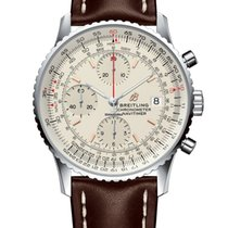 Breitling Navitimer Heritage Steel 41mm Silver No numerals United States of America, Iowa, Des Moines