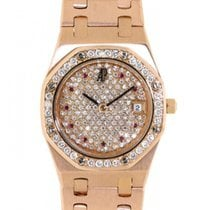 Audemars Piguet Royal Oak Lady Rotgold Keine Ziffern