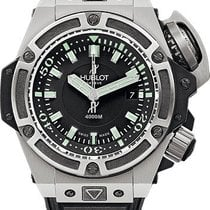 Hublot King Power Titanium 48mm Black No numerals United States of America, New York, Los Angeles