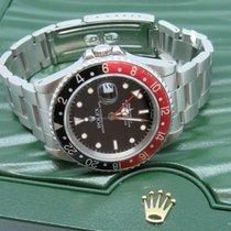 Rolex GMT-Master II Rolex GMT Master II Coke Bezel Steel 40 mm Black 1989 brukt