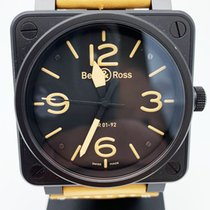 Bell & Ross BR0192-HERITAGE Steel 2010 BR 01-92 46mm pre-owned