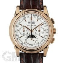 Patek Philippe Perpetual Calendar Chronograph 5970R-001 Muy bueno 40mm Cuerda manual
