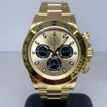 Rolex Yellow gold Automatic No numerals 40mm new Daytona