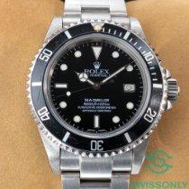 Rolex подержанные Автоподзавод 40mm Чёрный Сапфировое стекло более 120 атм