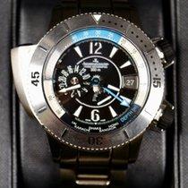 Jaeger-LeCoultre neu Automatik Kleine Sekunde Chronometer Verschraubte Krone Originalzustand/Originalteile 46mm Titan Saphirglas