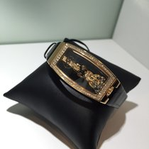 Corum Miss Golden Bridge Rose gold 21.3mm Transparent
