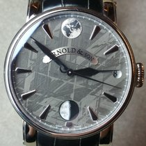 Arnold & Son True Moon Otel 46mm Argint
