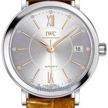 IWC Portofino Automatic Steel 37mm Silver United States of America, New York, Airmont