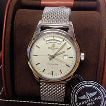 Breitling Transocean Day & Date A45310 - Box & Papers...