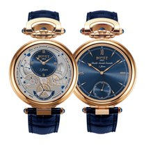Bovet Amadeo Double Face Blue Dail