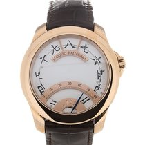Ludovic Ballouard Half Time 41 Hand Wound White Dial