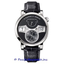 A. Lange & Söhne Zeitwerk White gold 42mm Black United States of America, California, Newport Beach