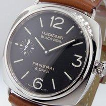 Panerai Unworn  Pam 609 Radiomir Black Seal Luminor 45 Mm 8...