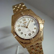 Breitling Lady Wings 18K Gold/Goldband