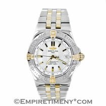 Breitling B71340 Mother Of Pearl Two-tone 18k & Stainless...