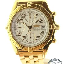 Breitling Chronomat Chronograph Solid 18k Yellow Gold