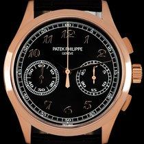 Patek Philippe Chronograph Rose gold 39.4mm Black Arabic numerals United Kingdom, London