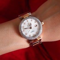 Omega De Ville Ladymatic Gold/Steel 34mm Mother of pearl No numerals United States of America, New York, Brooklyn