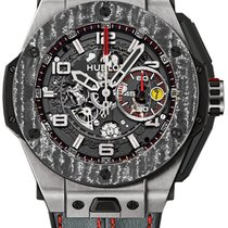 Hublot Big Bang Ferrari new 2019 Automatic Chronograph Watch with original box and original papers 401.NJ.0123.VR