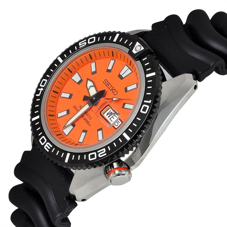Seiko Stargate Ii Orange Dial Divers Mens Srp497k1 For C 360 Automatic Limited Edition Diver 200m Srp510k1 Sale From A Seller On Chrono24