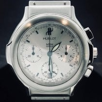 Hublot tweedehands Quartz 37mm Zilver Saffierglas 5 ATM