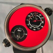 Meccaniche Veloci Tantál 45mm Automata Dual Timezone új