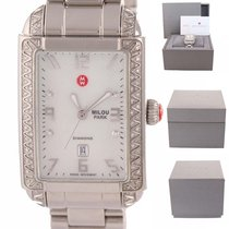 Michele 26mm Quartz pre-owned Mother of pearl