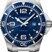 Longines HydroConquest Steel 44mm Blue United States of America, Iowa, Des Moines