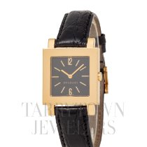 Bulgari Quadrato Yellow gold 29mm Black Arabic numerals United States of America, New York, Hartsdale