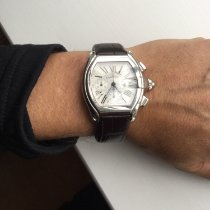 Cartier Roadster Steel Silver Roman numerals United Kingdom, Nantwich
