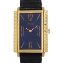 Piaget Rose gold Quartz Blue 27mm pre-owned