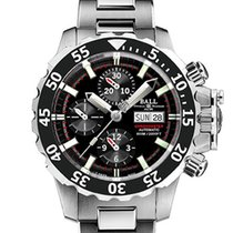 Ball Engineer Hydrocarbon Nedu Titanium 42mm Black No numerals