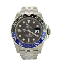 Rolex GMT-Master 126710BLNR BATMAN new