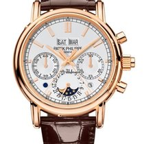 Patek Philippe 5204 Rose gold 2018 Perpetual Calendar Chronograph new